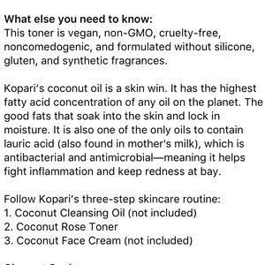 Sephora Makeup - Kopari Coconut Rose Toner